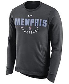 Nike Men's Memphis Grizzlies Practice Therma Crew Sweatshirt