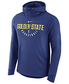 Nike Men's Golden State Warriors Practice Therma Hoodie