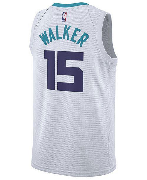 ... Nike Men s Kemba Walker Charlotte Hornets Association Swingman Jersey  ... 4c65c49c6