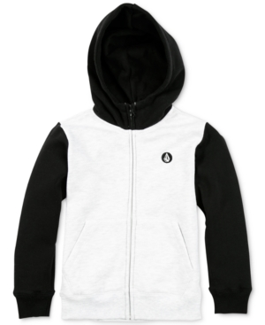 Volcom Colorblocked Zip-Up...