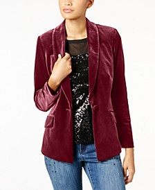 INC Petite Velvet Blazer, Created for Macy's