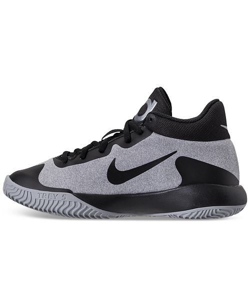 check out c82e5 574ad ... Nike Big Boys  KD Trey 5 V Basketball Sneakers from Finish Line ...