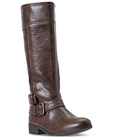 Nine West Sassy Tran 2 Boots, Big Girls (3.5-7) & Little Girls (11-3) from Finish Line