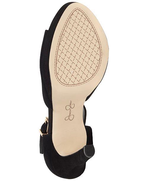 b1aa50b83a42 Jessica Simpson Beeya Two-Piece Platform Sandals