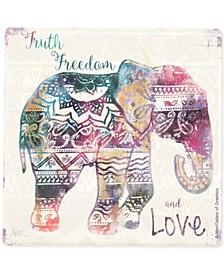 Boho Elephant Coaster
