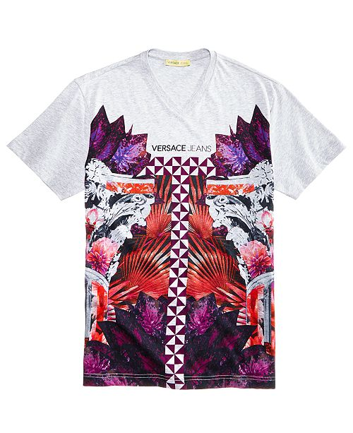 750333af9 Versace Men's Graphic-Print T-Shirt & Reviews - T-Shirts - Men - Macy's