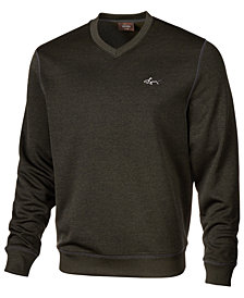Greg Norman for Tasso Elba Men's Rapiwarm  V-Neck Sweater, Created for Macy's