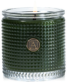 Aromatique Holiday Textured Glass Candle
