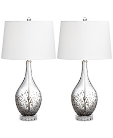 Pacific Coast Sparrow Set of 2 Table Lamp
