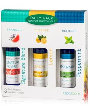 SpaRoom 3Pk Daily Essential Oils