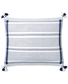 "CLOSEOUT! Lauren Ralph Lauren Luna Stripe 15"" x 20"" Decorative Pillow"