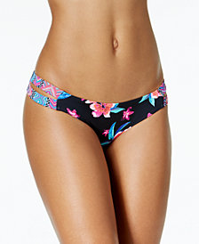 Sundazed Sasha Strappy Bikini Bottoms, Created for Macy's