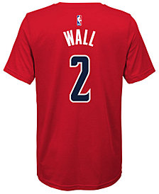 Nike John Wall Washington Wizards Icon Name & Number T-Shirt, Big Boys (8-20)