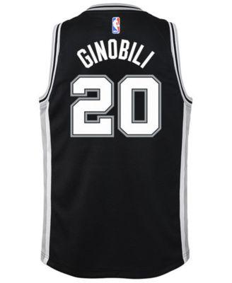 b167337bcd2 Nike Manu Ginobili San Antonio Spurs Icon Swingman Jersey
