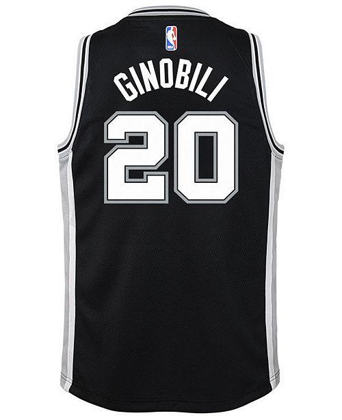 a68391dfd04 ... Nike Manu Ginobili San Antonio Spurs Icon Swingman Jersey