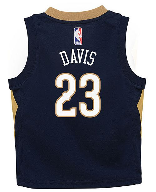 223c360b10c ... purchase nike anthony davis new orleans pelicans icon replica jersey  infants a69d0 f25b7