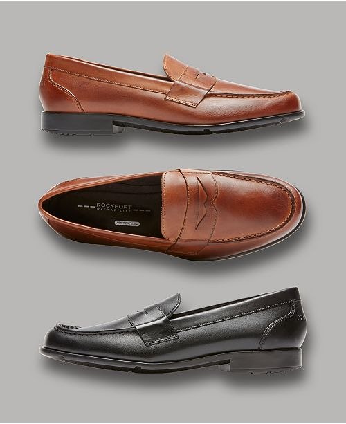 1be56c9e95e Rockport Men s Classic Penny Loafer   Reviews - All Men s Shoes ...