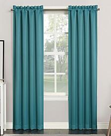 "Preston 40"" x 84"" Rod-Pocket Blackout Curtain Panel"
