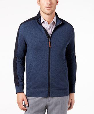 Tasso Elba Men's Track Jacket, Created for Macy's