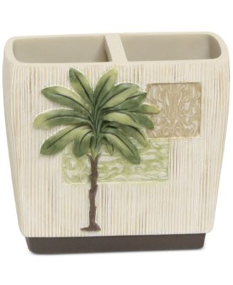 Citrus Palm Toothbrush Holder
