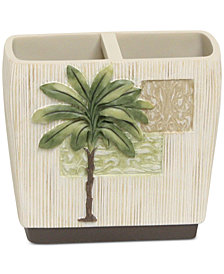Bacova Citrus Palm Toothbrush Holder