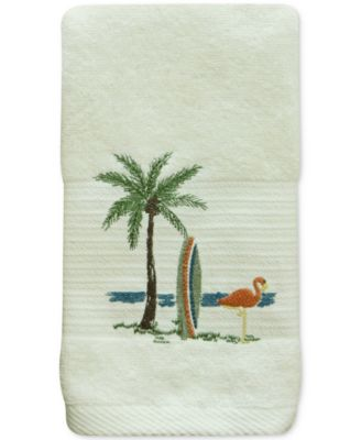 Shorething Cotton Embroidered Hand Towel