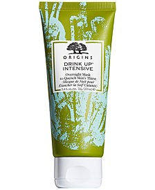 Origins Drink Up Intensive Overnight Mask to Quench Skin's Thirst, 3.4 fl. oz