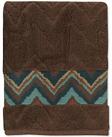 Bacova Sierra Cotton Zig-Zag Hand Towel