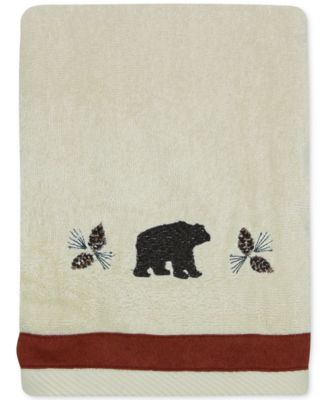 North Ridge Cotton Embroidered Hand Towel