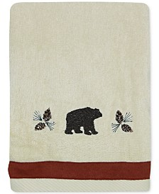 Bacova North Ridge Cotton Embroidered Hand Towel