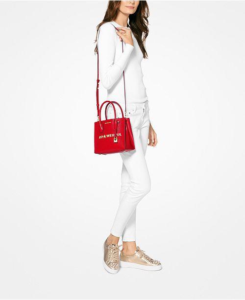 11af9e40028a Michael Kors Mercer Powerful Medium Crossbody & Reviews - Handbags ...