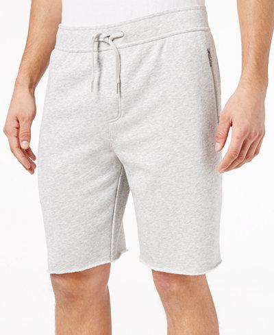 American Rag Men's Raw Edge Knit Shorts, Created for Macy's