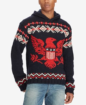 Polo Ralph Lauren Mens Intarsia Sweater Sweaters Men Macys