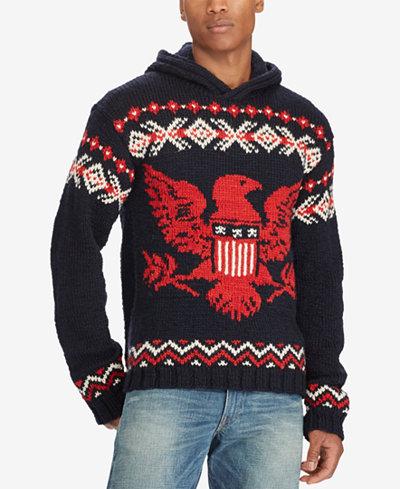Polo Ralph Lauren Men's Intarsia Sweater - Sweaters - Men - Macy's