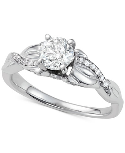 Diamond Engagement Ring (7/8 ct. t.w.) in 14k White Gold