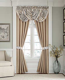 "Croscill Nathaniel Waterfall Swag 48"" x 33"" Window Valance"