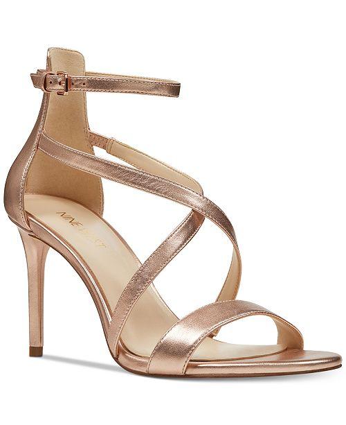 28876e7fca5 Nine West Retilthrpy Strappy Sandals - Sandals   Flip Flops - Shoes ...