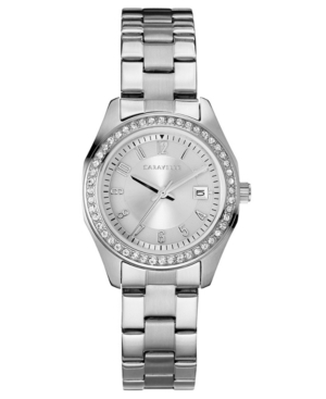 Designed by Bulova Women's Stainless Steel Bracelet Watch 28mm