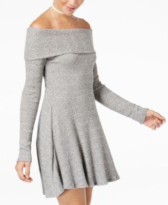 american rag ribknit sweater dress created