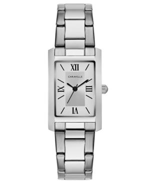 Designed by Bulova Women's Stainless Steel Bracelet Watch 21x33mm