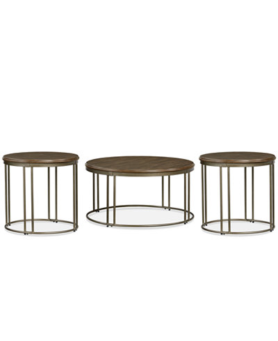 Colven 3-Pc. Table Set, Quick Ship