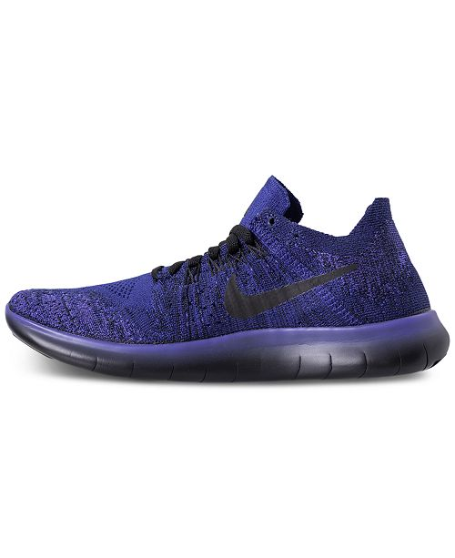 new styles a60ab 83208 Nike Big Boys' Free Run Flyknit 2017 Running Sneakers from ...