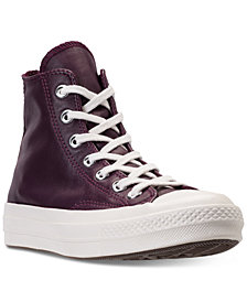 Converse Women's Chuck Taylor All Star 70 High Top Leather Casual Sneakers from Finish Line