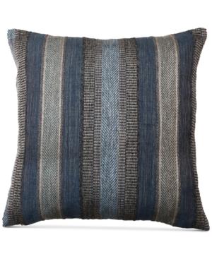 Hallmart Collectibles Striped Chenille 18 Square Decorative Pillow Bedding