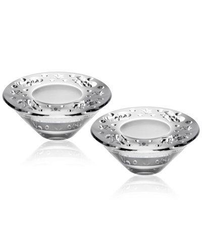 Waterford Heritage Christmas Votive, Set of 2