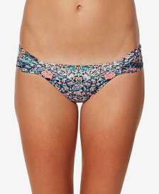 O'Neill Juniors' Porter Strappy Cheeky Bikini Bottoms,Created for Macy's Style