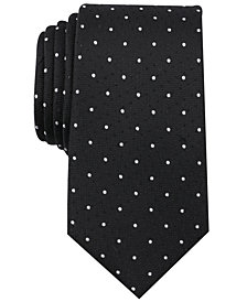 Bar III Men's Frye Dot Skinny Tie, Created for Macy's