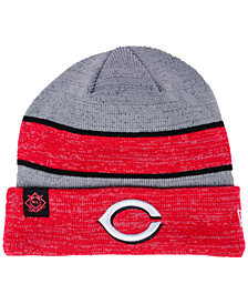New Era Cincinnati Reds On Field Sport Knit Hat