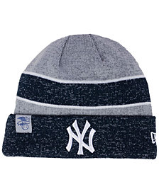 New Era New York Yankees On Field Sport Knit Hat