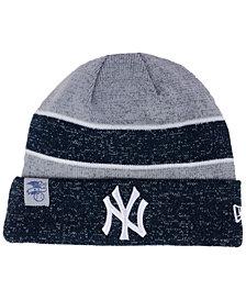 New Era New York Yankees On Field Sport Knit Hat